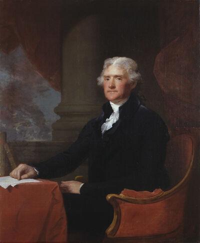 Gilbert Stuart, 'Portrait of Thomas Jefferson', ca. 1805