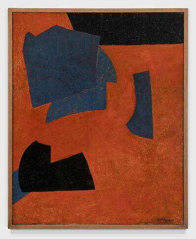 Serge Poliakoff, 'ORANGE ET BLEU', 1951