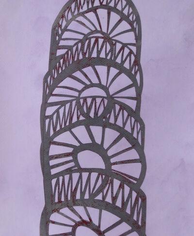 Angela A'Court, 'Lines and Curves I', 2016