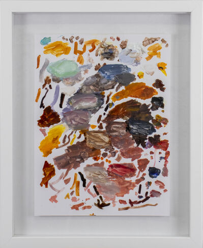 Ian Stone, 'Palette Painting : Morning Sink', 2020
