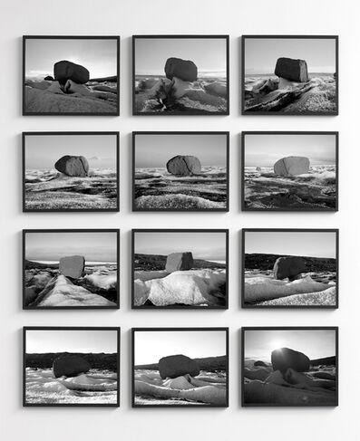 Olafur Eliasson, 'The large glacier surfer', 2007