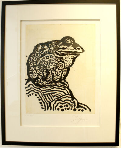 Tomi Ungerer, 'Le Crapaud', 2011