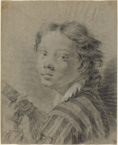 Giovanni Battista Piazzetta, 'A Boy with a Lute', ca. 1740