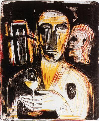 Mimmo Paladino, 'Come en uno specchio', 1989-1990