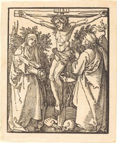 Albrecht Dürer, 'Christ on the Cross with Mary and Saint John', 1510