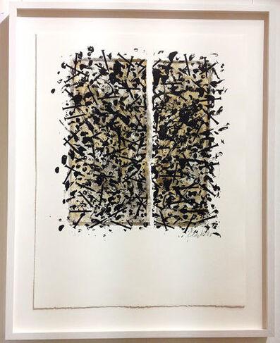 Günther Uecker, 'Gespalten (Grenzverhältnisse)', 1983
