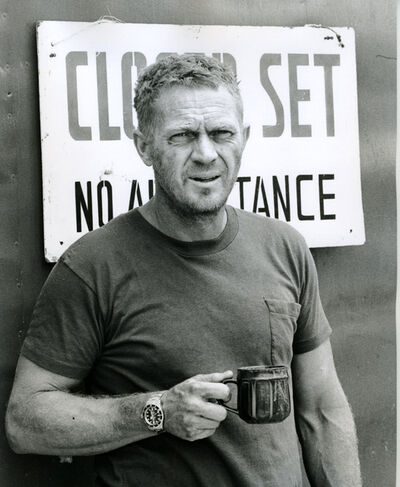 """Ron Galella, 'Steve McQueen on location filming """"Papillon"""", Montego Bay, Jamaica', 15th April 1973"""