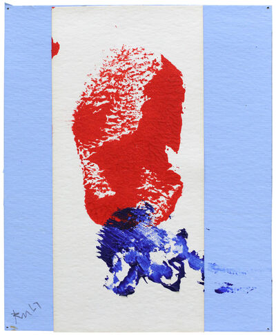 Robert Motherwell, 'Red, White and Blue No. 2', 1967