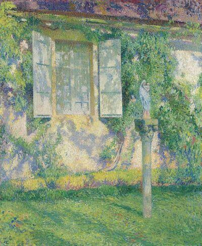 Henri Martin, 'Outside the Window, Marquarol', Circa 1915