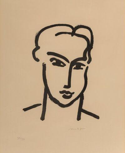 After Henri Matisse, 'Grande tête de Katia', circa 1950