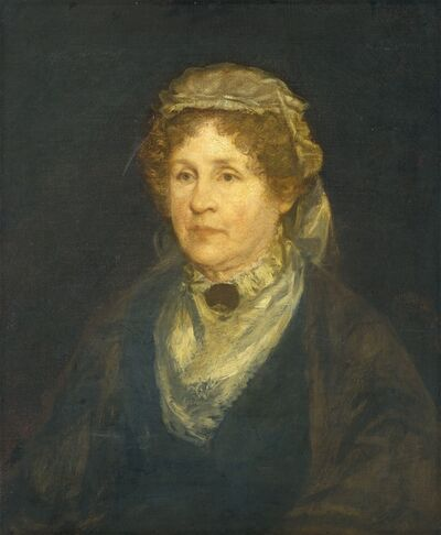 George Fuller, 'Agnes Gordon Cochran Higginson (Mrs. Stephen Higginson)', 1876