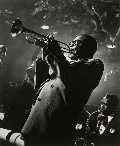 Herman Leonard, 'Dizzy Gillespie, Royal Roost, New York City', 1948