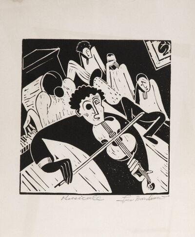 Lou Barlow, 'Musicale', ca. 1935