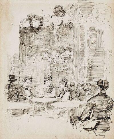Mariano Fortuny, 'Interior de café', ca. 1874