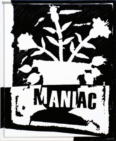 B. Thom Stevenson, 'Study For Maniac ', 2016
