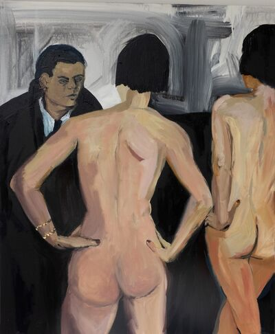 Claudia Baez, 'Brassaï- Introductions at Suzy's, Paris c. 1932', 2019