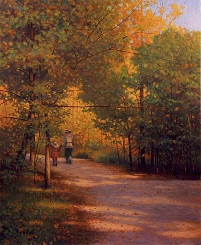 Mason Archie, 'A Pathway on Roosevelt Island'