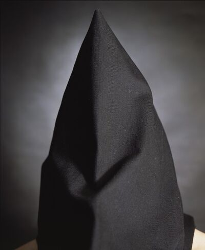 Andres Serrano, 'Kevin Hannaway, the hooded men, (Torture) ', 2015