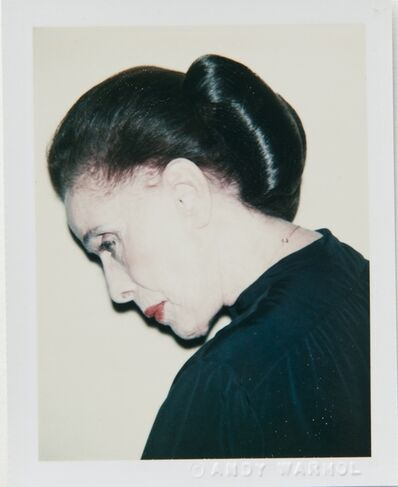 Andy Warhol, 'Andy Warhol, Polaroid Photograph of Martha Graham, 1979', 1979