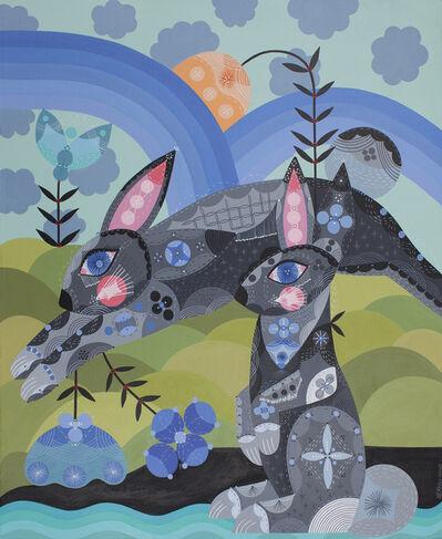 Bunnie Reiss, 'Runaway Bunnies', 2020