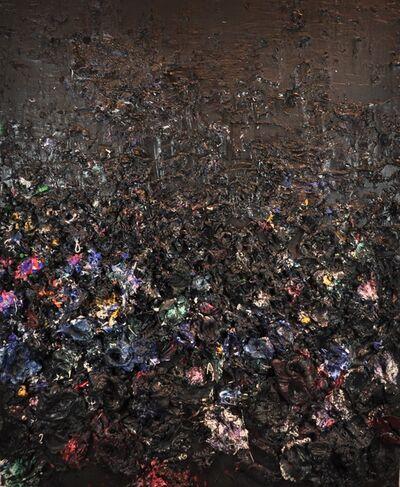 Ismael Lagares, 'PURPLE BLACK VII', 2017