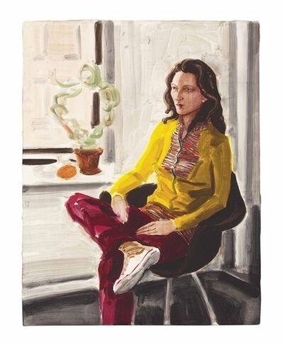Elizabeth Peyton, 'Annette Greenwich St.'