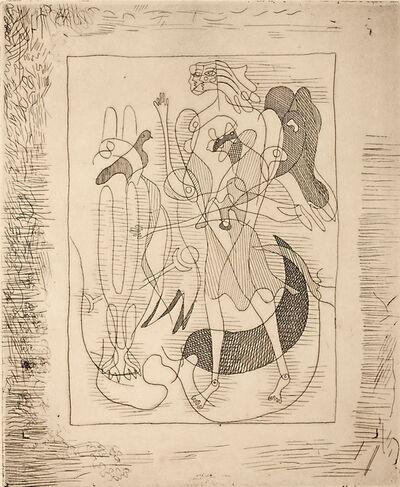Georges Braque, 'La Théogonie d'Hésiode, pl. 9.', 1932