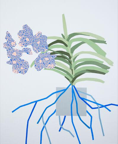 Karl-Joel Larsson, 'Untitled-Plant-Painting', 2014