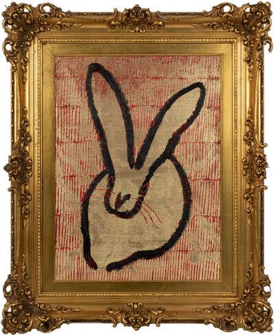 Hunt Slonem, 'Single (Bunny)', 2020