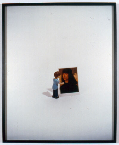 Liliana Porter, 'Boy with Postcard, Edition 1/5', 1999