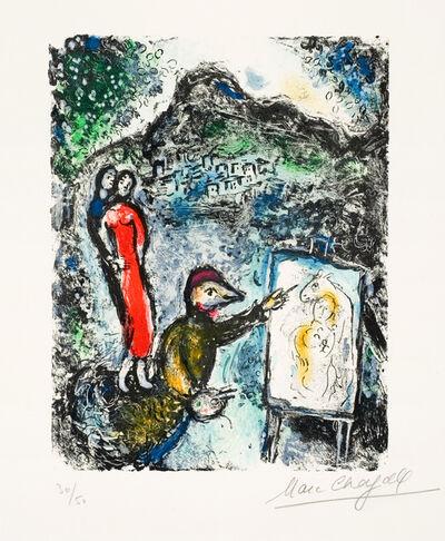 Marc Chagall, 'Devant St. Jeannet (Near St. Jeannet)', 1972