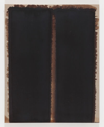 Yun Hyong-keun, 'Burnt Umber & Ultramarine Blue', 2007