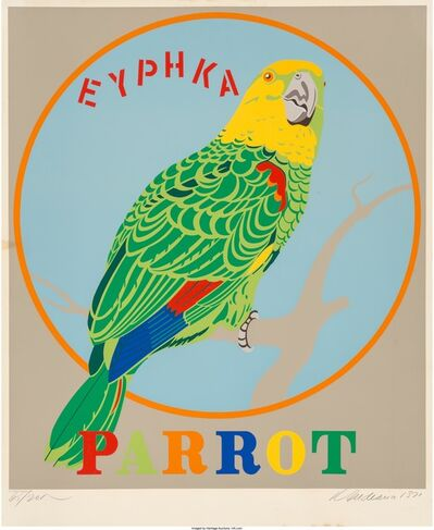 Robert Indiana, 'Parrot, from the Decade portfolio', 1971
