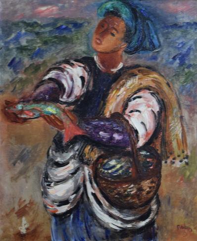 Reuven Rubin, 'Fisherman', 1940