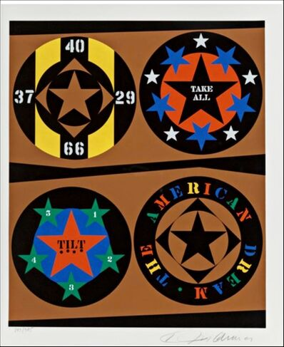 Robert Indiana, 'Tilt, from the American Dream Portfolio', 1997