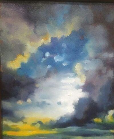 Layla Folkmann, 'Where The Mountains Met The Sky I', 2020