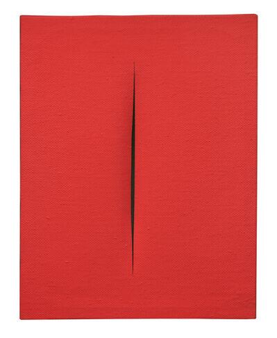 Lucio Fontana, 'Concetto spaziale, Attesa ', 1966