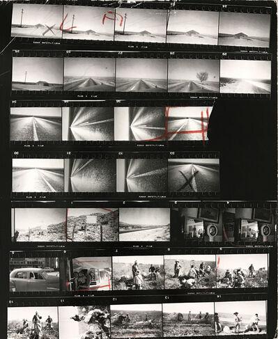 Robert Frank, 'Contact Sheet #35 (U.S. 285, New Mexico)', 2009