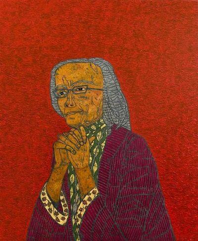 Stephen Chambers, 'Portrait of Brenda Hale', 2020
