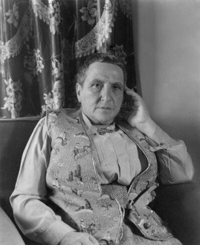 Imogen Cunningham, 'Gertrude Stein', 1937