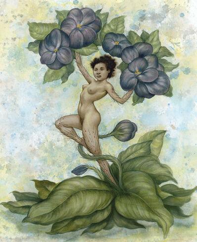 Anita Kunz, 'Violet'