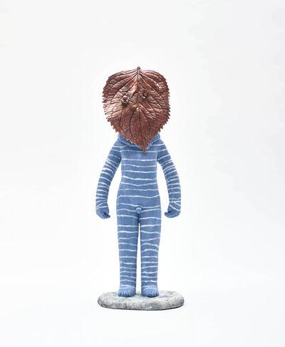 Clémentine de Chabaneix, 'Blue leafman', 2020