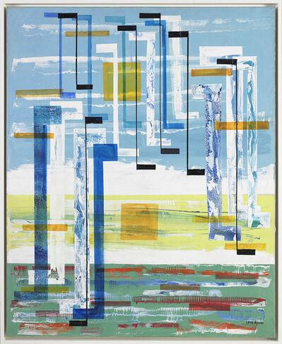 Irene Rice Pereira, 'The Illuminated Content', ca. 1960