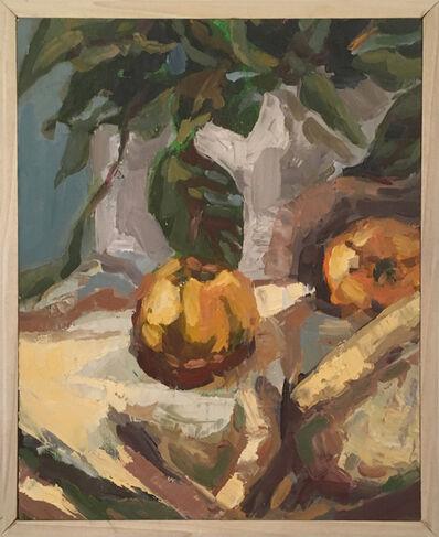 Heather Kanazawa, 'Peaches with Plant', 2019