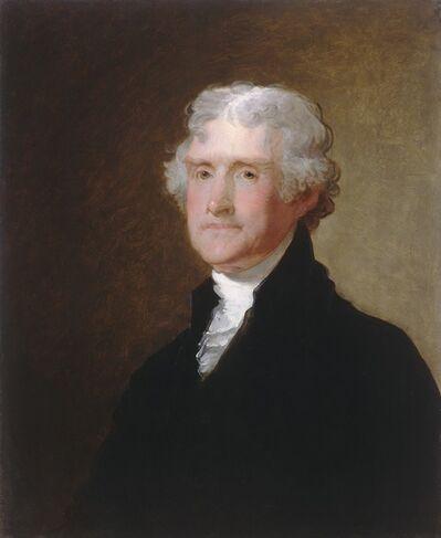 Gilbert Stuart, 'Thomas Jefferson', ca. 1821