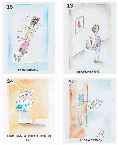Pablo Helguera, 'Artoons. 54 Cartas de Lotería', 2019