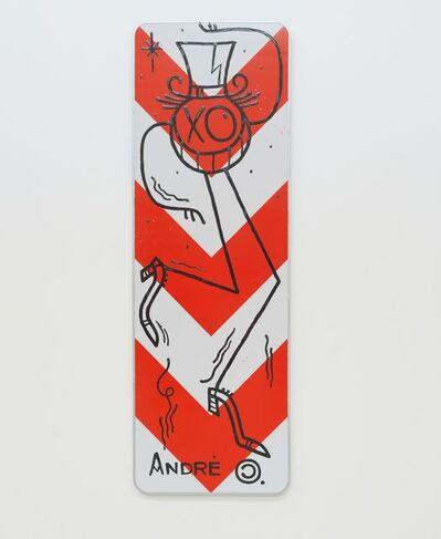 André Saraiva, 'Street Sign Mr.A', 2020