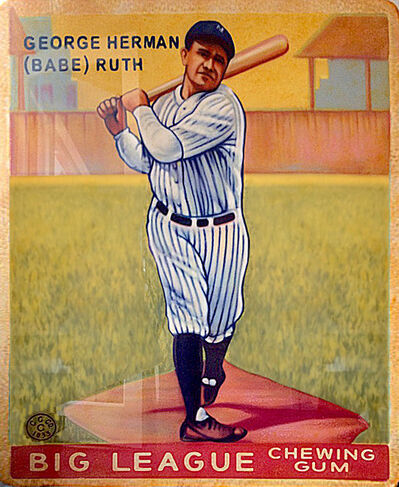 George Mead, '1933 Goudey Babe Ruth #144', 2017