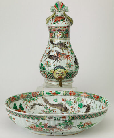 Unknown Chinese, 'Chinese export porcelain cistern', Qing dinasty-Kanxi period