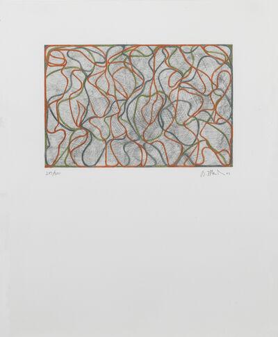 Brice Marden, 'Distant Muses', 2000